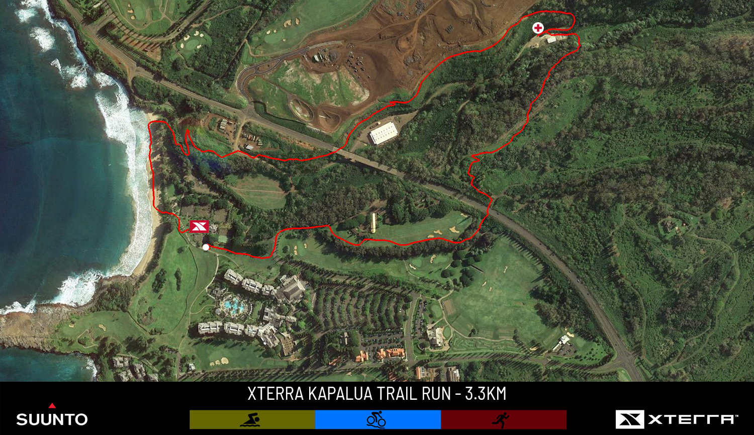 XTERRA Kapalua 3.3km Trail Run