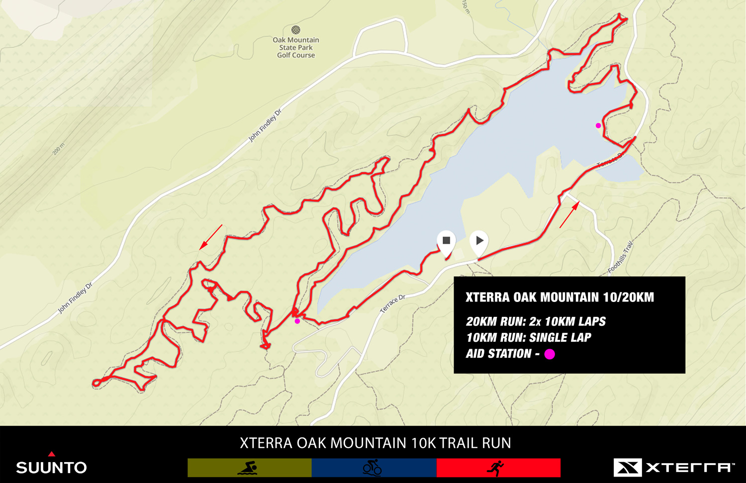 XTERRA Oak Mountain Trail Run