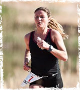 Rachel Cieslewicz win XTERRA Lake Las Vegas Trail Run 21km