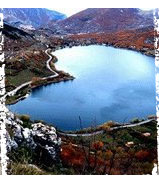 Italy Heart Shaped Lake
